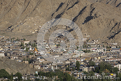 Leh in Ladakh - the far Norther part of India