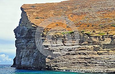 Lehua Rock in Hawaii
