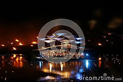 Leigo Lake Music Festival. Leigo, Estonia Editorial Photo