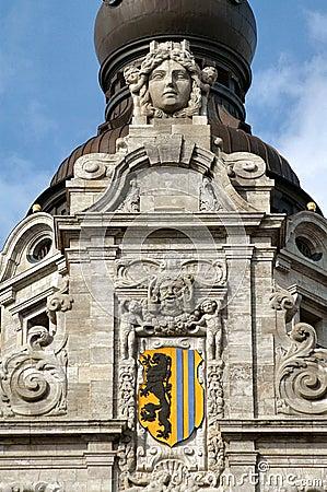 Leipzig City Hall Sculpture
