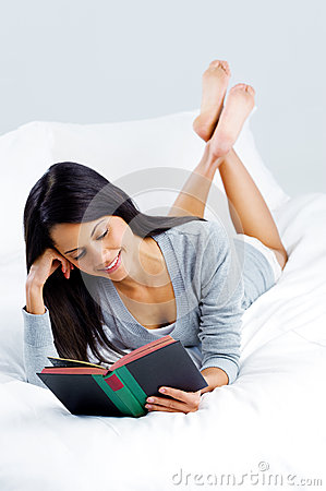 Leisure book woman
