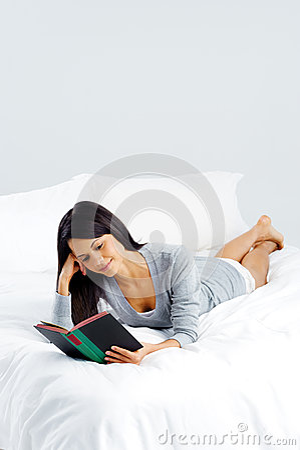 Leisure book woman