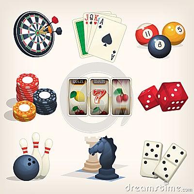Free Leisure Games Icons Stock Photos - 80077173