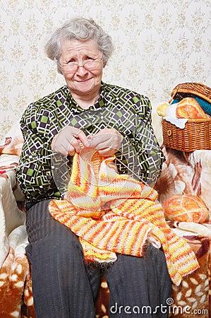 Leisure grandmother