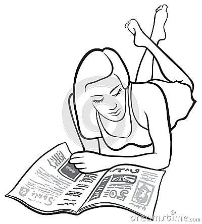 Leitura da menina