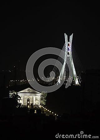 Free Lekki-Ikoyi Link Bridge Royalty Free Stock Image - 57997526