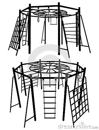 Lekplats för 05 barn