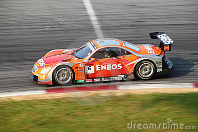 Lemans Eneos 6, SuperGT 2010 Editorial Image