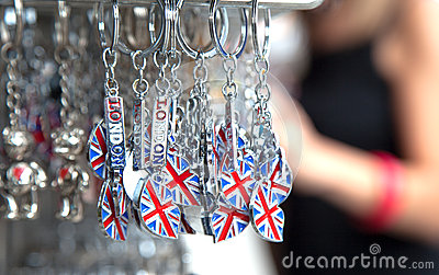 Lembrança BRITÂNICA para turistas