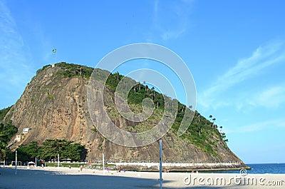 Leme point in Rio de Janeiro, Brazil