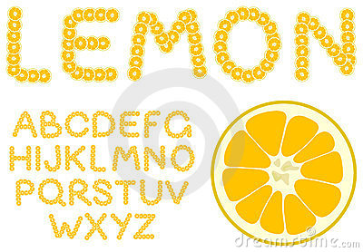 Lemon alphabet