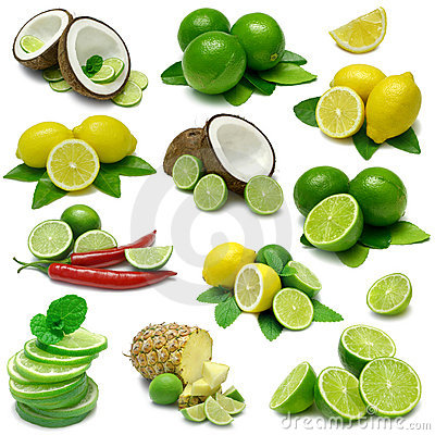 Free Lemon And Lime Combos Stock Image - 5986461