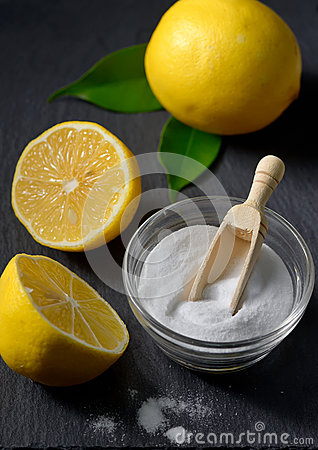 how to use baking soda and lemon for face