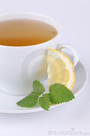 Lemon balm and lemon