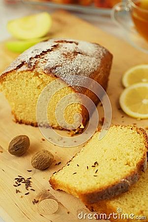 Free Lemon Cake Stock Photos - 10549793