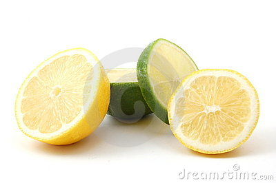 Lemon and citron fruit