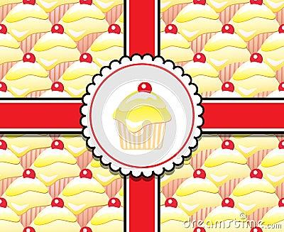 Lemon cupcake gift