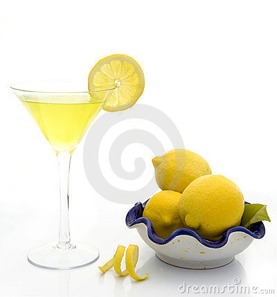 Free Lemon Drop Martini Royalty Free Stock Images - 2469429