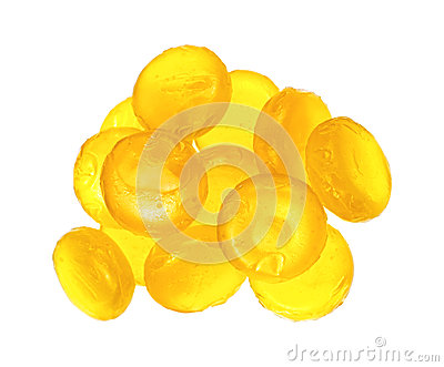 Lemon Flavored Cough Drops