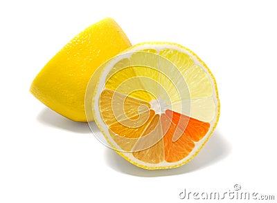 Lemon with gradient