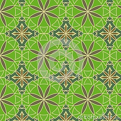 Lemon Green Vector Seamless Pattern Stock Photos - Image: 16352193