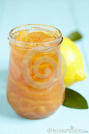 Lemon homemade jam
