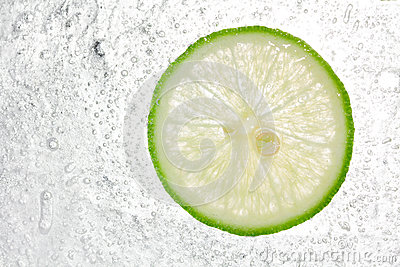 Lemon In Ice background