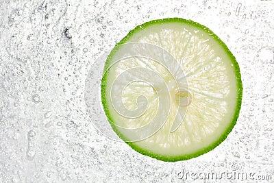Lemon In Ice background