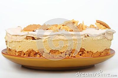Lemon Ice Box Pie Stock Photo - Image: 63894131