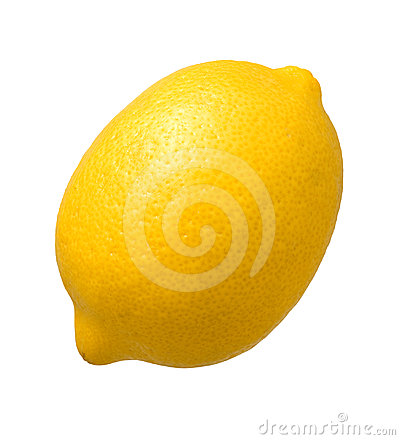 Free Lemon Isolated Royalty Free Stock Photo - 24495795