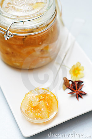 Lemon and lime jam