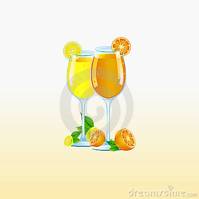 Lemon & Orange