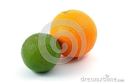 Lemon orange and citron fruit