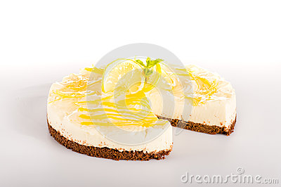 Lemon pie dessert creamy cake delicious sweet