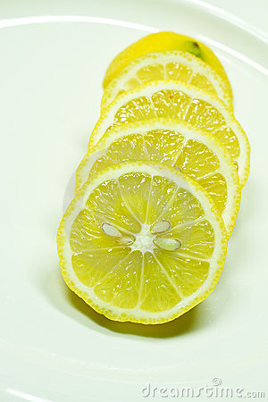 Lemon pieces