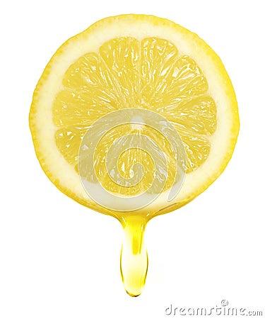 Free Lemon Slice Royalty Free Stock Photo - 49787395