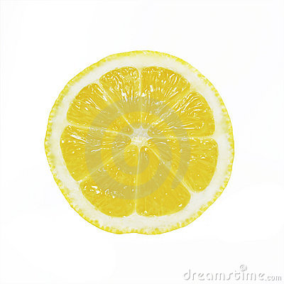 Free Lemon Slice Royalty Free Stock Photo - 7566465