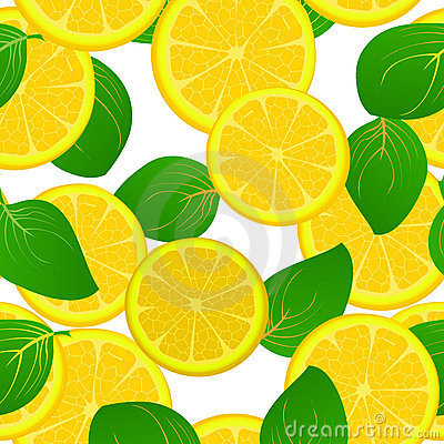 Lemon slice pattern