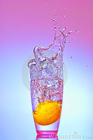 Lemon Splash Stock Photos - Image: 22716423
