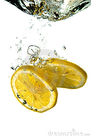 Free Lemon Splash Royalty Free Stock Images - 2911349