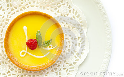 Lemon Tart With Love Icing