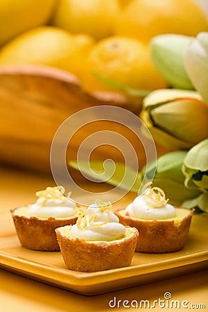 Free Lemon Tarts Royalty Free Stock Image - 8764746