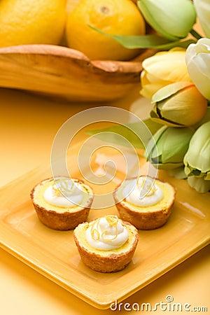 Free Lemon Tarts Royalty Free Stock Photo - 8764765