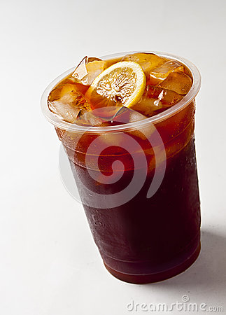 Lemon tea drinks