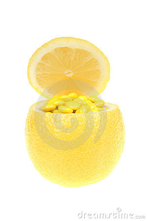 Lemon and vitamin