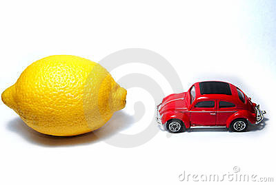 Lemon vs car
