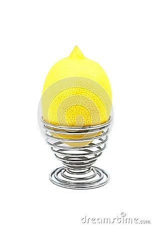 Free Lemon Vs Egg Royalty Free Stock Images - 19217699