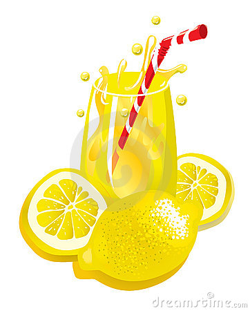 Free Lemonade (illustration) Stock Image - 4306041