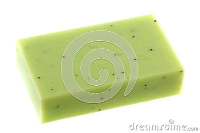 Lemongrass Glycerin Bar Soap with scrub beads