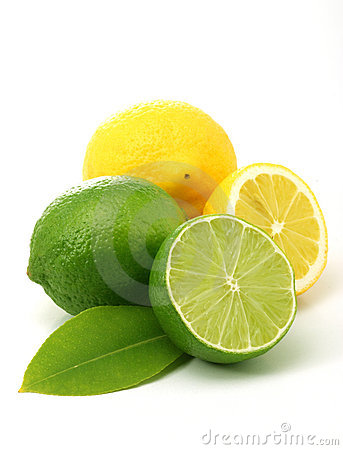 Free Lemons And Green Limes Stock Photography - 4676412